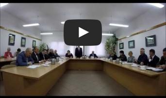 XXVIII Sesja Rady Miejskiej w Rynie 22.02.2017 r.